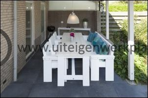Steigerhout tuintafel model Chris